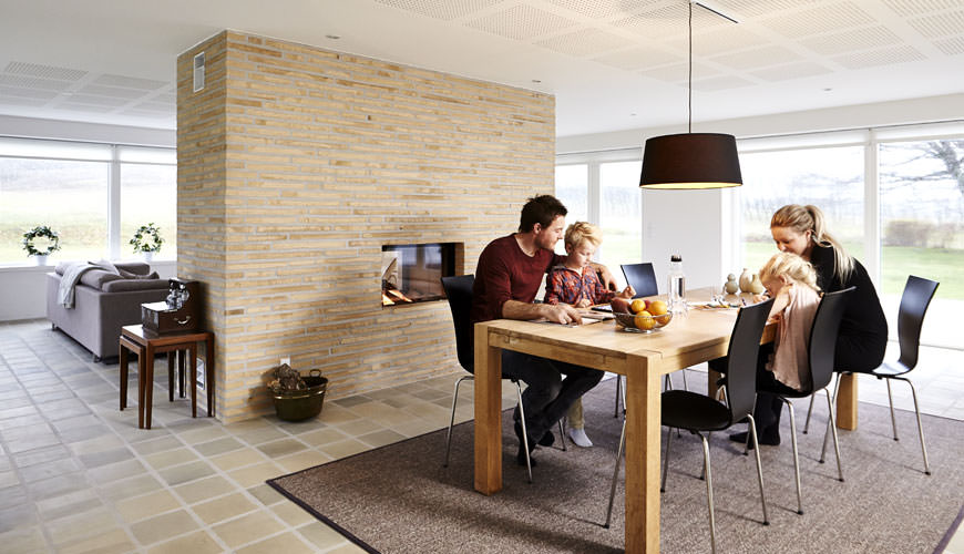 Interior Walls Made Of Bricks Help Adjust The Building S Temperature As They Heat And